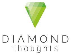 Diamond thoughts Logo